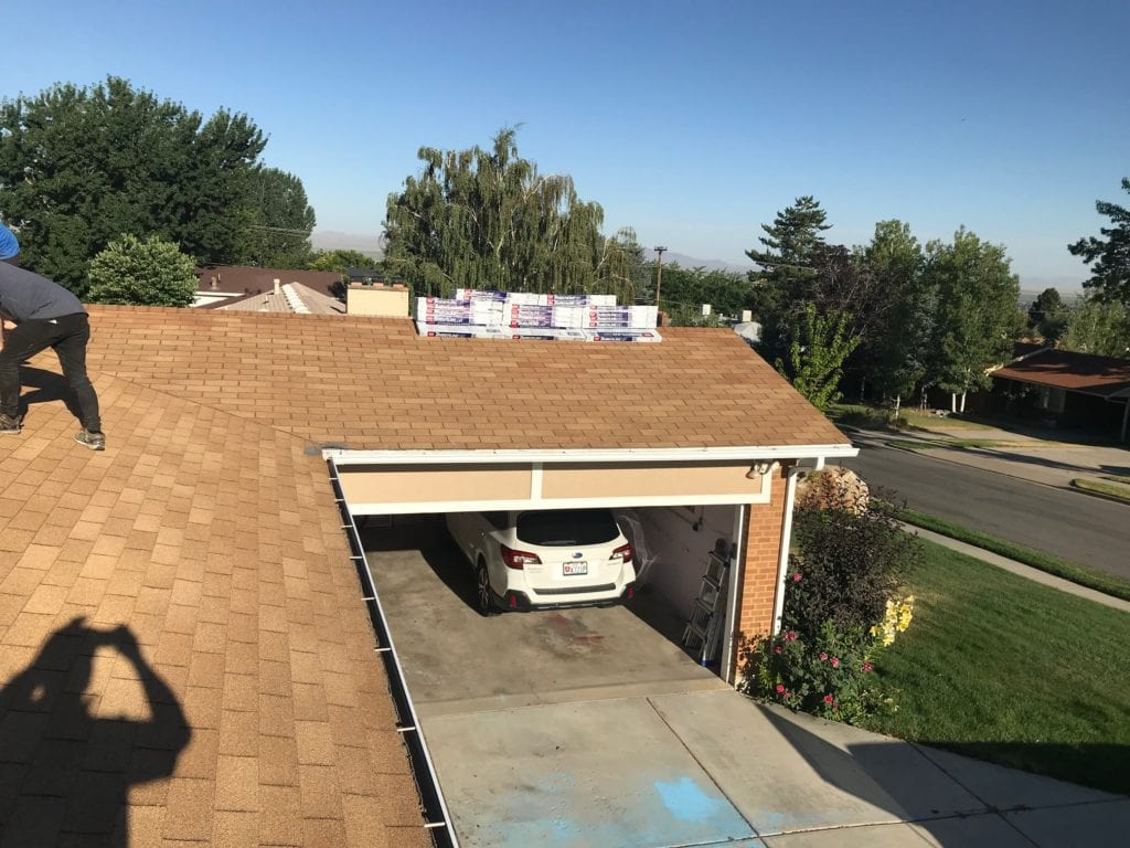 roof over garage